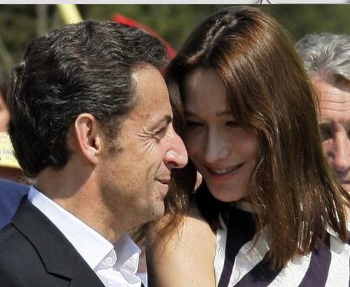 Николя Саркози назвал свой новый самолет в честь жены (Фото)
